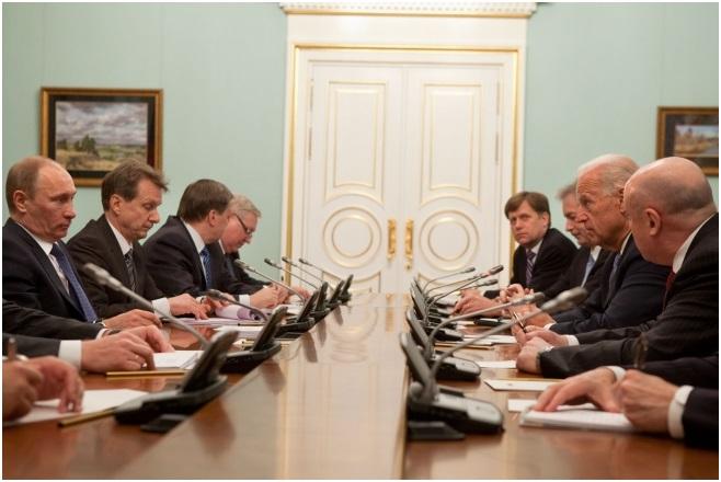 Incontro bilaterale tra Putin e Biden a Mosca nel marzo 2011